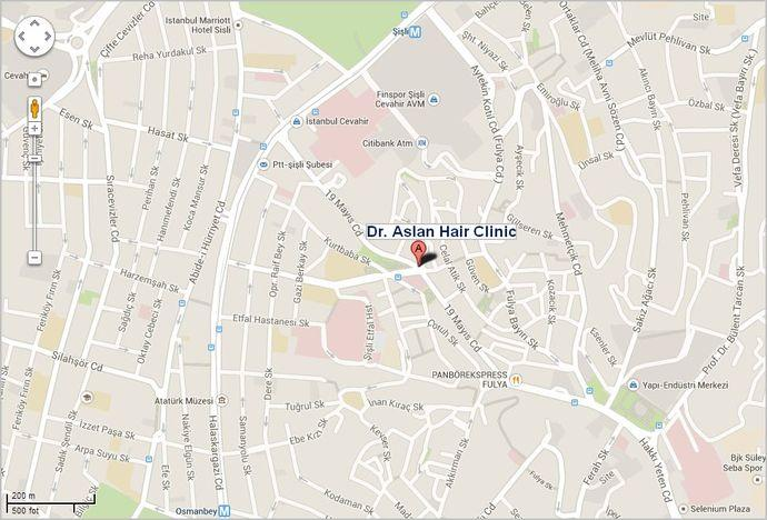 Dr. Aslan clinic location